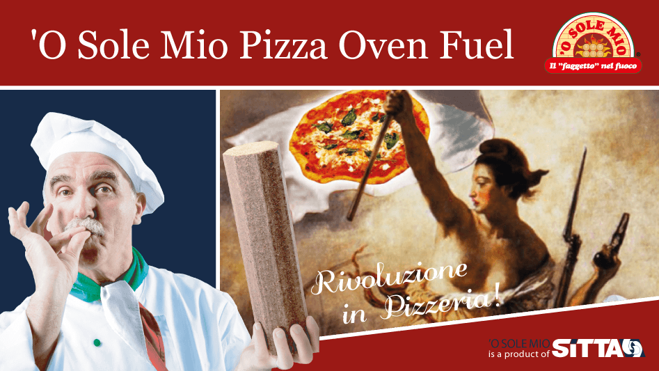 O sole mio wood fuel for pizza ovens